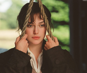 pride and prejudice, keira knightley, and jane austen image