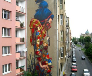 mural, Poland, and travel image
