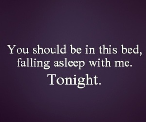 asleep, tonight, and love image