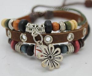 boy bracelet, girl bracelet, and men bracelet image