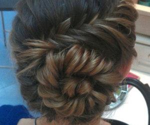braid, bun, and wanelo image