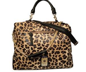 bag, gold, and handbag image