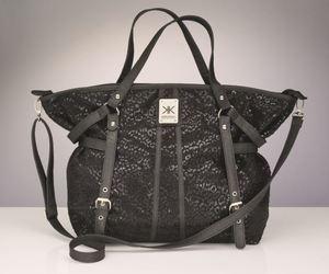 bag, handbag, and silver image