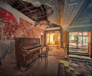 abandoned, antique, and beautiful image