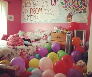 Prom, balloons, and up image