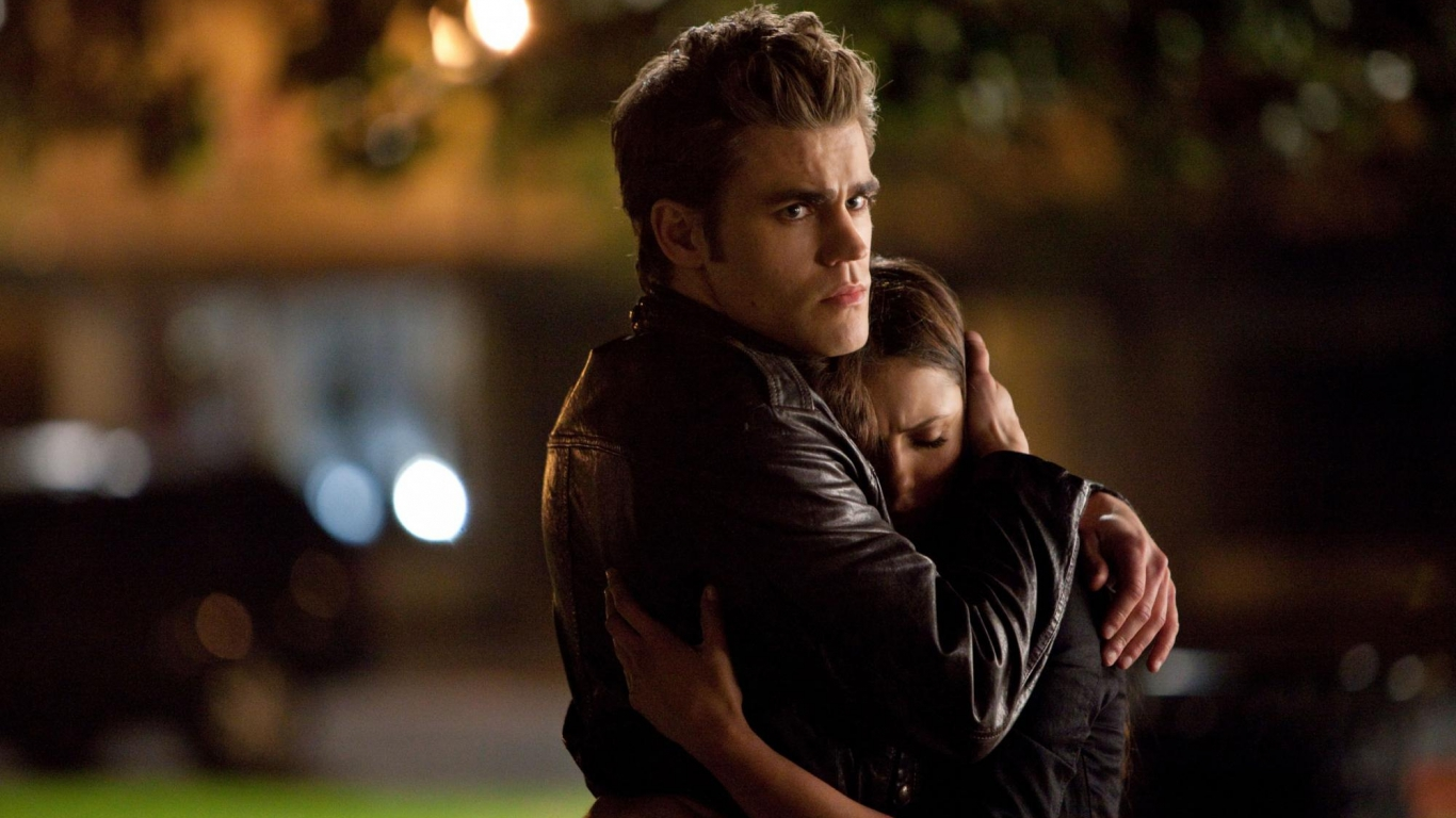 Image result for the vampire diaries elena and stefan