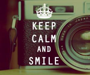 smile, calm, and keep image