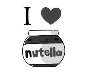 nutella, love, and chocolate image