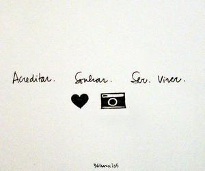 camera, heart, and text image