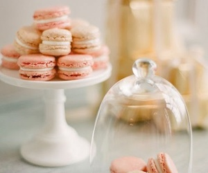 pink, macaroons, and candy image