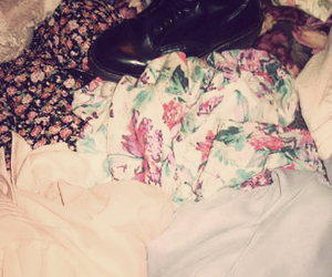 clothes, doc martens, and clothing image