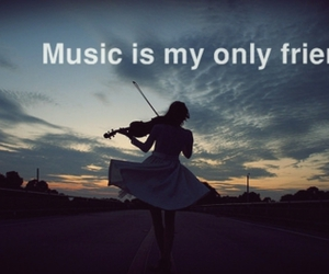 text, music, and quote image