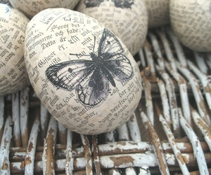 butterfly and easter image