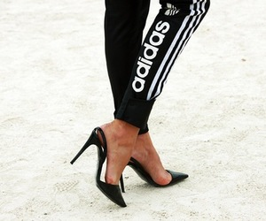 adidas, Hot, and legs image