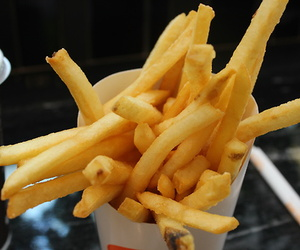 photography, food, and fries image