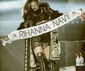 rihanna, navy, and riri image