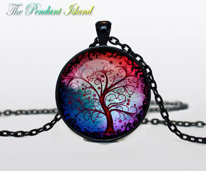 stars, tree of life, and tree of life necklace image