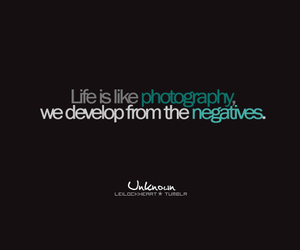 life, photography, and text image