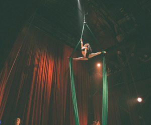 circus and aerial silks image
