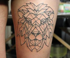 tattoo, art, and geometric image