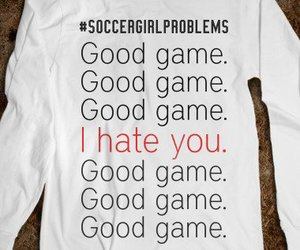 soccer, good game, and soccer problems image