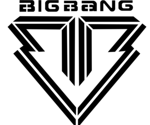 big bang, black and white, and kpop image