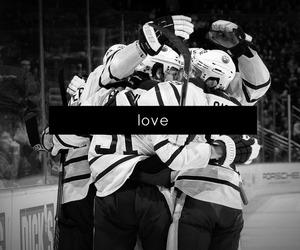 hockey, love, and Ice Hockey image