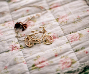 bike, necklace, and vintage image