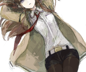 anime, art, and steins gate image