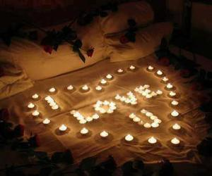 love, I Love You, and candle image