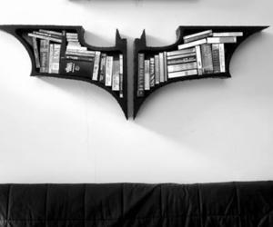 batman, book, and black image