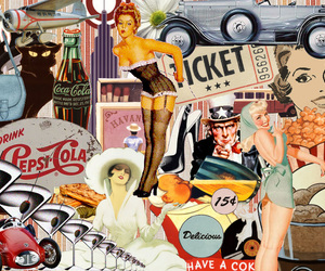 vintage and Collage image