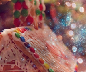 bokeh, candycanes, and candy image