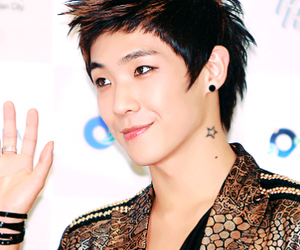 asian, handsome, and music image