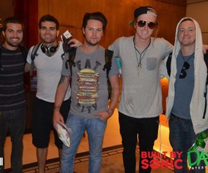 we the kings, charles trippy, and travis clark image