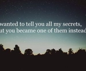 secret, quotes, and text image