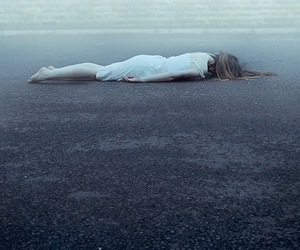 girl, alone, and dead image