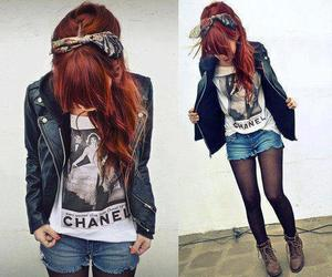 chanel and red hair image