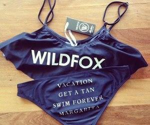 bikini, summer, and wildfox image
