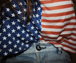 america, girl, and united states image