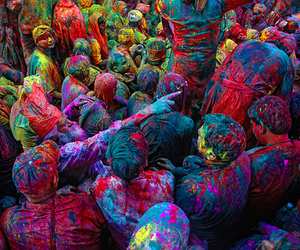 colors, paint, and people image
