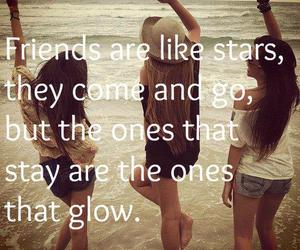 friends, stars, and true image