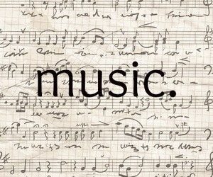 music, smile, and text image