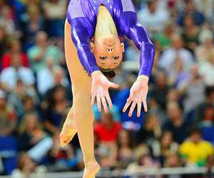 beautiful, gymnast, and gymnastics image