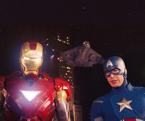 captain america, iron man, and the avengers image