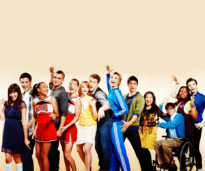 glee, boys, and fashion image