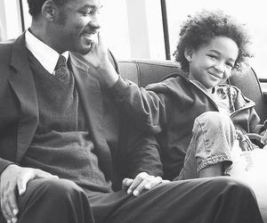 will smith, jaden smith, and father image