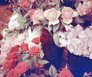 flowers, lomography, and roses image