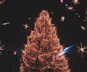 light, christmas, and night image
