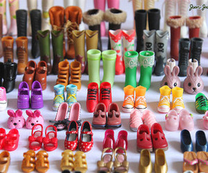 shoes, barbie, and little image